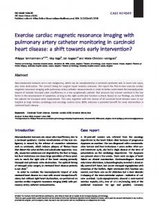 Exercise cardiac magnetic resonance imaging ... - Wiley Online Library