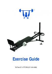 Exercise Guide - FB Gyms