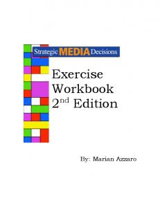 Exercise Workbook 2nd Edition - AdBuzz.com