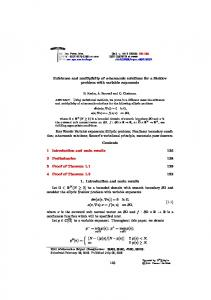 Existence and multiplicity of a-harmonic solutions for a Steklov ...