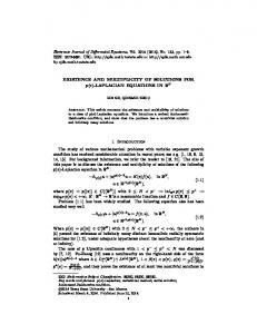 EXISTENCE AND MULTIPLICITY OF SOLUTIONS FOR p(x ...
