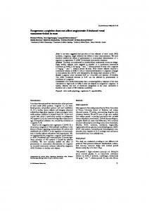 Exogenous L-arginine does not affect ... - Wiley Online Library