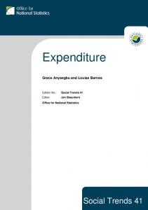 Expenditure - Office for National Statistics