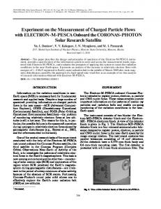 Experiment on the Measurement of Charged Particle ... - Springer Link