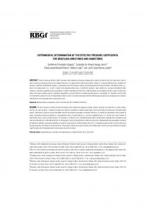 EXPERIMENTAL DETERMINATION OF THE