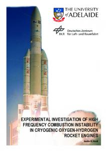 experimental investigation of high frequency ...