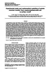 Experimental study and mathematical modelling ... - Wiley Online Library