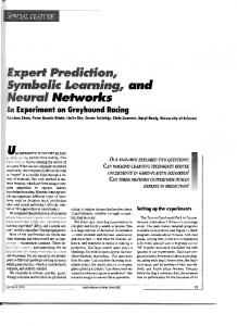 Expert Prediction, Symbolic Learning, and Neural Networks