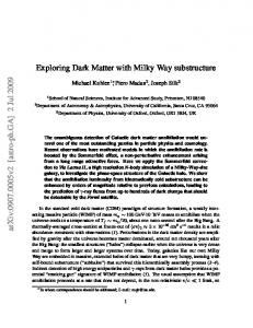 Exploring Dark Matter with Milky Way substructure
