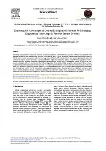 Exploring the Advantages of Content Management ... - ScienceDirect