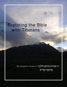 Exploring the Bible with Tibetans