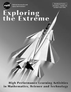 Exploring the Extreme Educator Guide - NASA