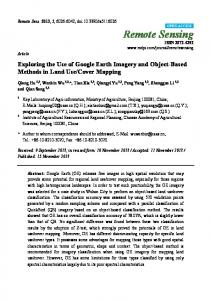 Exploring the Use of Google Earth Imagery and Object ... - CiteSeerX