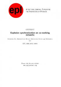 Explosive synchronization on co-evolving networks