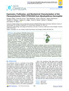 Expression, Purification, and Biochemical Characterization of the