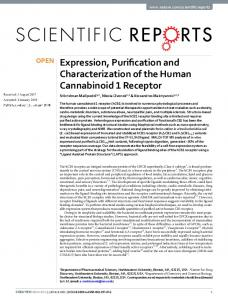 Expression, Purification and Characterization of the ...
