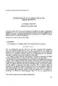 Extensions of AH algebras with the ideal property - Cambridge ...