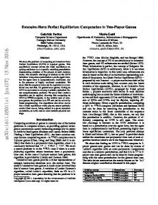 Extensive-Form Perfect Equilibrium Computation in Two-Player Games