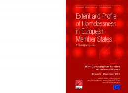 Extent and Profile of Homelessness in European Member States