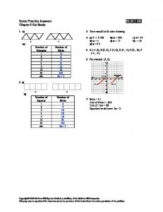 Extra Practice Answers BLM 2 GR - HRSBSTAFF Home Page