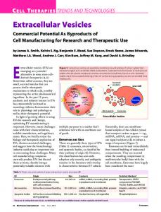 Extracellular Vesicles - Capricor Therapeutics