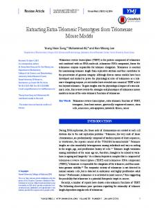 Extracting Extra-Telomeric Phenotypes from ... - Semantic Scholar