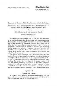 Extraction and spectrophotometric determination of iron(III) with N