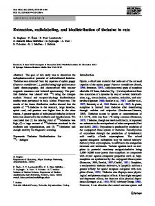 Extraction, radiolabeling, and biodistribution of ... - Springer Link