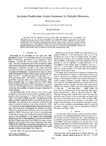 Extreme precipitation events generated by ... - Wiley Online Library