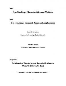 Eye-Tracking - Semantic Scholar
