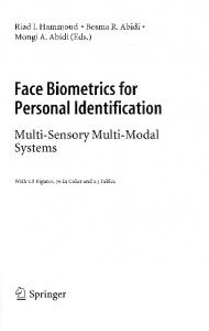 Face Biometrics for Personal Identification