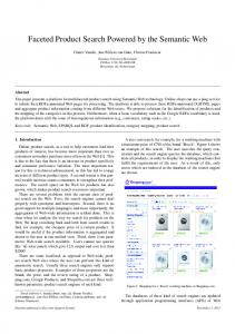Faceted Product Search Powered by the Semantic Web - Erasmus ...