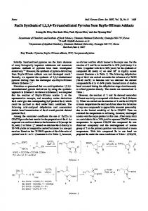 Facile Synthesis of 1,2,3,4-Tetrasubstituted Pyrroles from Baylis ...