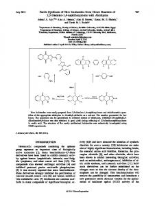 Facile synthesis of new imidazoles from direct ... - Wiley Online Library