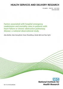 Factors associated with hospital emergency readmission and mortality