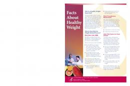 Facts About Healthy Weight