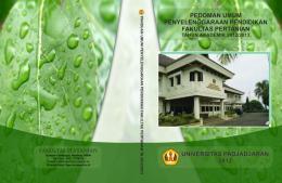 Faculty of Agriculture Handbook
