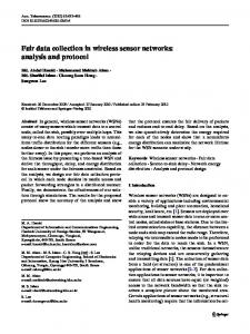Fair data collection in wireless sensor networks