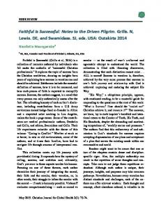 Faithful Is Successful - Christian Journal for Global Health