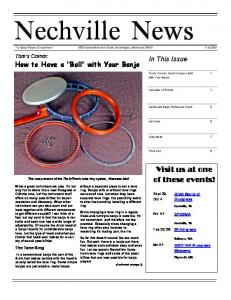 Fall 2009 - Nechville Musical Products