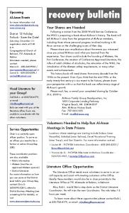 fall 2009 newsletter - Al-Anon