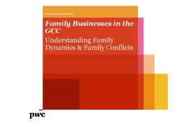 Family Businesses in the GCC Understanding Family Dynamics ...