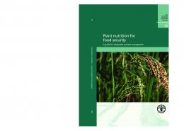 fao fertilizer and plant nutrition bulletin