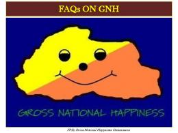 FAQs ON GNH - Gross National Happiness Commission