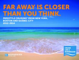far away is ClosEr tHan you tHink.