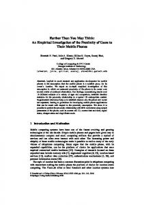 Farther Than You May Think: An Empirical ... - Semantic Scholar