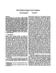 Fast Multilevel Support Vector Machines