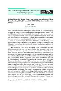 Fathers, sons and the land in between - European Journal of Life Writing