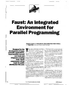 Faust - Computer and Information Science