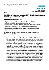 Feasibility of Frequency-Modulated Wireless Transmission for ... - MDPI